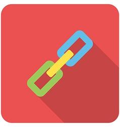 Link icon vector image