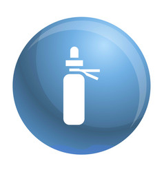medical pill icon simple style vector image