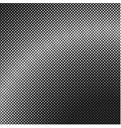monochrome halftone square background pattern vector image