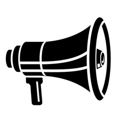 new megaphone icon simple style vector image