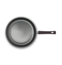 realistic empty pan vector image