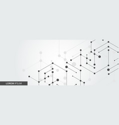 Simple technology graphic background vector