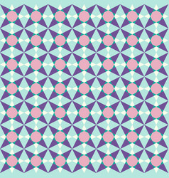 small objects geometric seamless pattern vector image