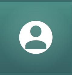 User icon human person symbol avatar login sign vector