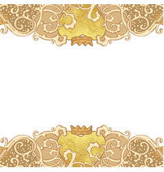 Wedding stationery background vector