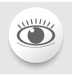Eye icon - Simple vector image