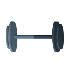 dumbbell weight fitness equipment design graphic vector image vector image