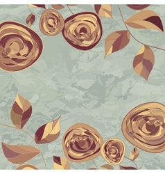 Vintage Rose Background vector image