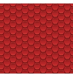 Abstract seamless pattern background with hexagon vector