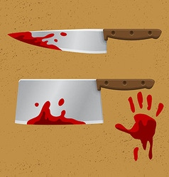 Bleeding Knife1 vector image