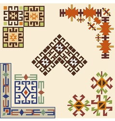 corner design element vector image