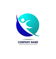 Human Hope Logo vector image