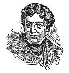 John george lambton first earl of durham vintage vector