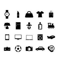 Online Shop Icon vector