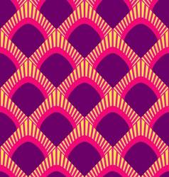 Peacock patternjapan wave pattern vector