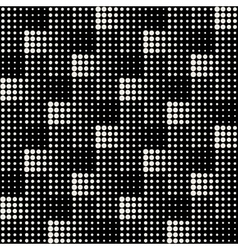 Seamless Black And White Abstract Geometric vector image