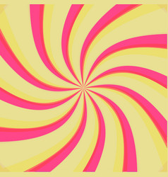 Swirl radial pattern backgrounds vector