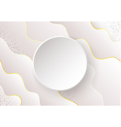 wavy abstract background with shadow vector image