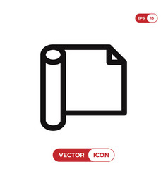 wrapping icon vector image
