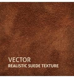 Brown suede background vector