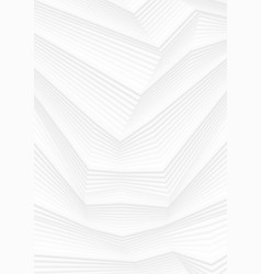 abstract white 3d lines refraction minimal vector image