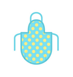Apron icon flat style vector