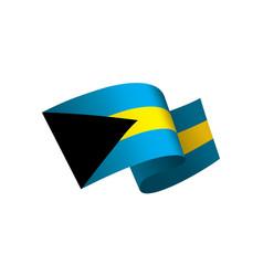 bahamas flag vector image