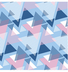 Blu and rosy color geometry modern motif vector