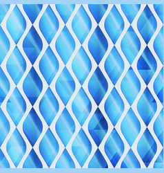 Blue mosaic seamless pattern vector