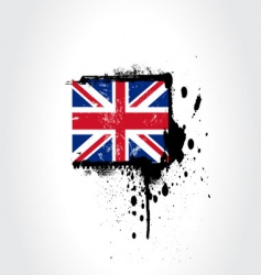 britain flag vector image