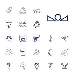 Eco icons vector