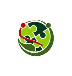 Ecology world community vector