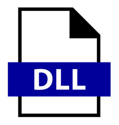 file name extension dll type vector image