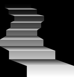 Mysterious stairs vector