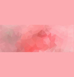 polygon background light pink wide screen vector image