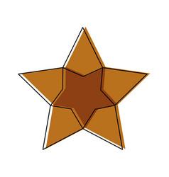 Star cinema award celebration bright vector