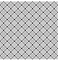 stylish black and white geometric graphic vector image