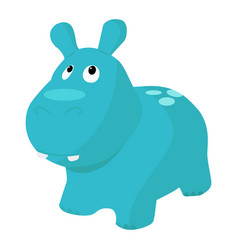 Toy behemoth icon on a white background vector