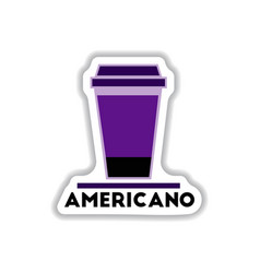 Label frames and badges icons coffee emblem of vector
