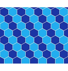Abstract background blue mosaic vector