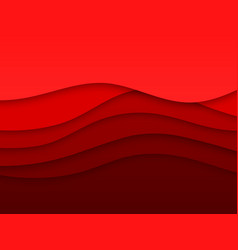 abstract smooth wavy background vector image