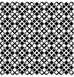 black and white geometrical diagonal square vector image