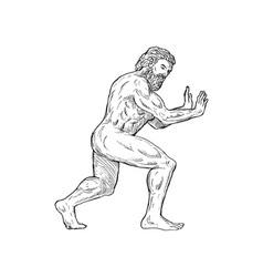 Hercules pushing vector