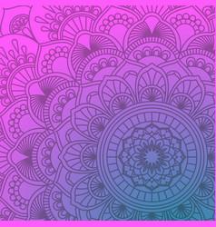 Mandala decorative and pattern design vector