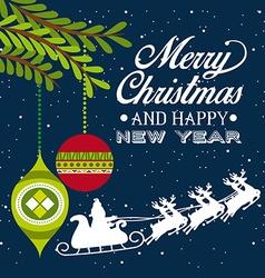 Merry Christmas design vector