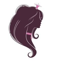 Portrait of a Princess2 vector image