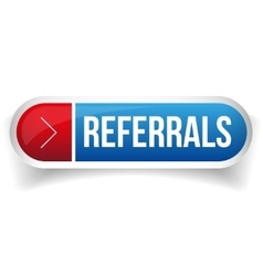 Referral button bubble vector