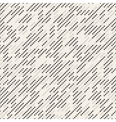 Seamless Black And White Irregular Diagonal vector image