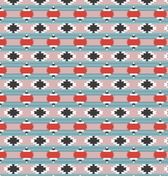 Seamless Native Pattern 01 vector image