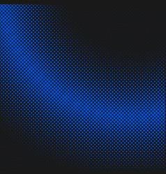 simple halftone square background pattern design vector image